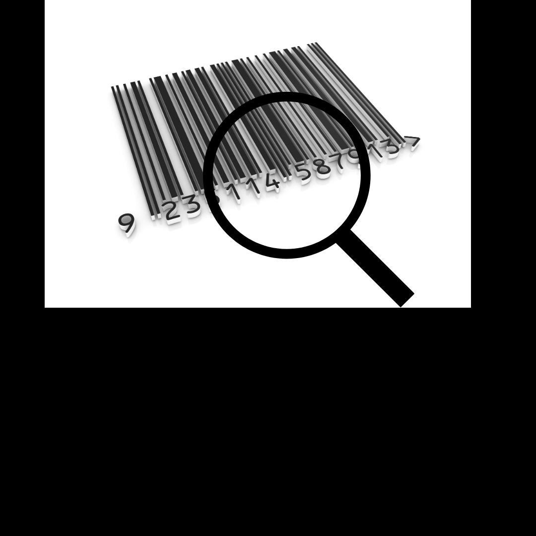 Pesquisando informações sobre código de barras.